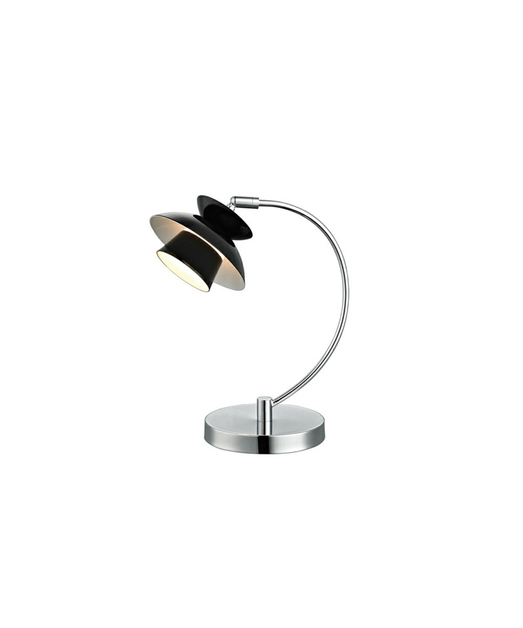 Mini Dallas Metal Bordlampe Sort - Halo Design