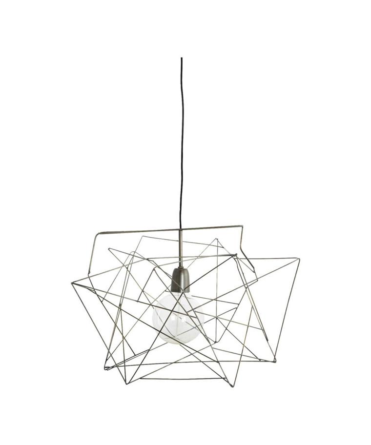 Asymmetric Lampeskærm Grå - House Doctor