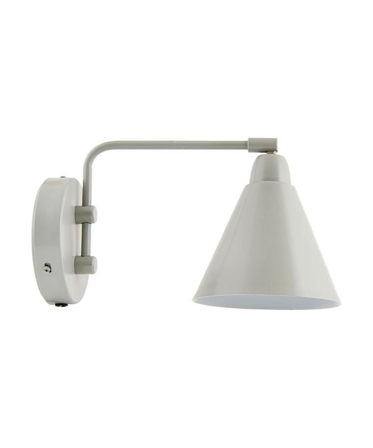 Game Væglampe 20cm Grå/Hvid - House Doctor