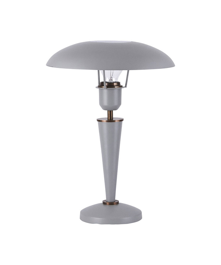 Opal Bordlampe Grå H34cm - House Doctor