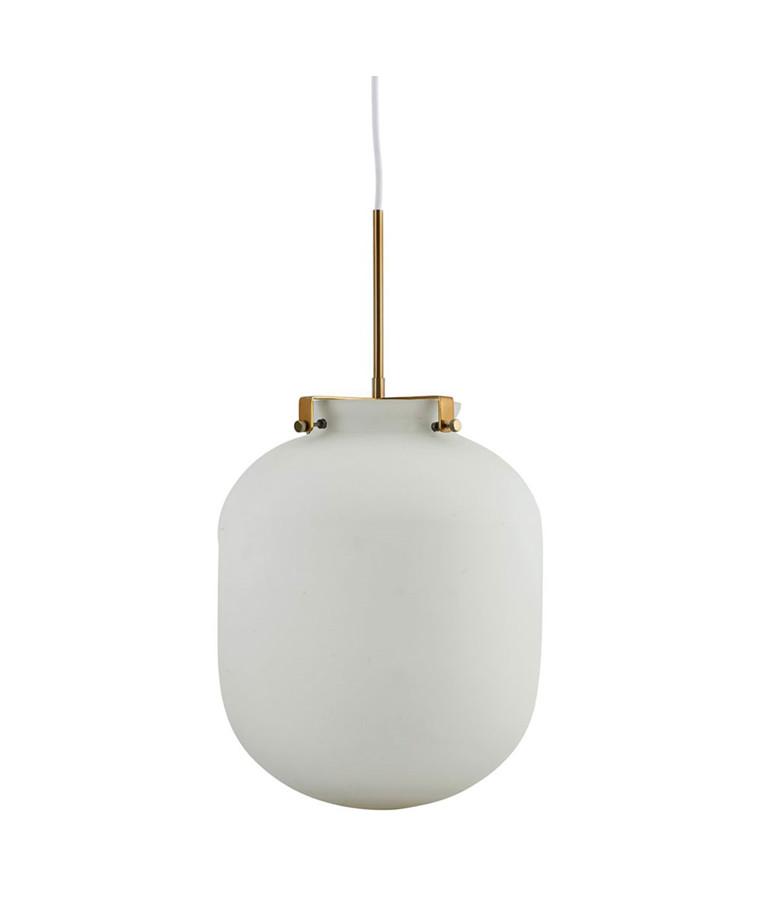 Ball Pendel Lampe Hvid - House Doctor