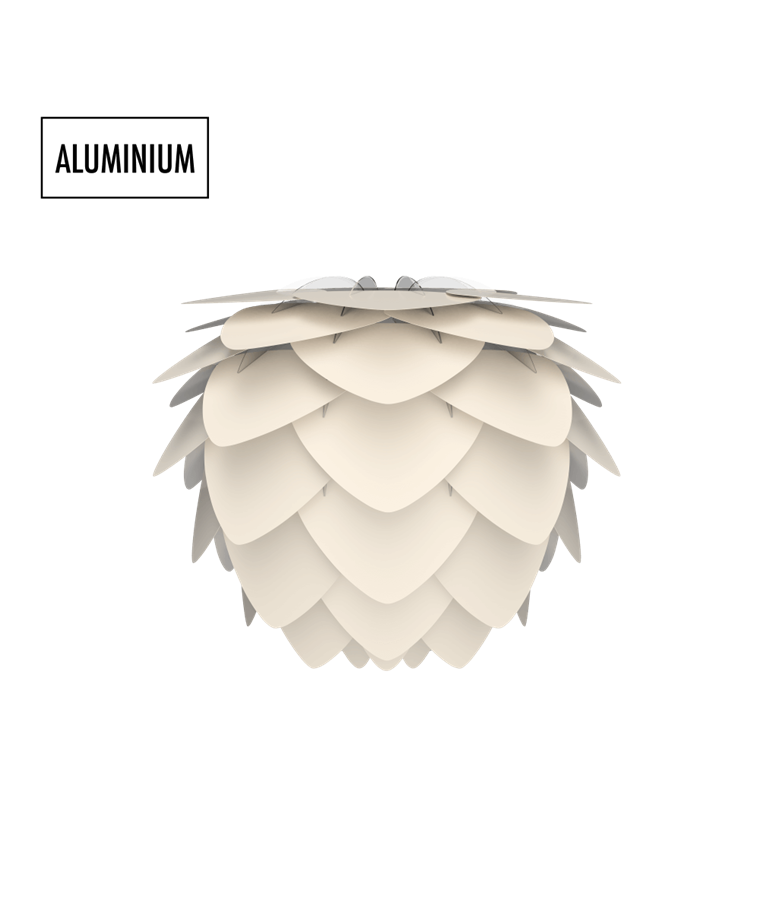 Aluvia Mini Skærm Pearl  - Vita