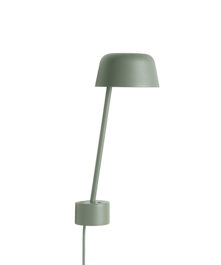 Lean Væglampe Dusty Green - Muuto