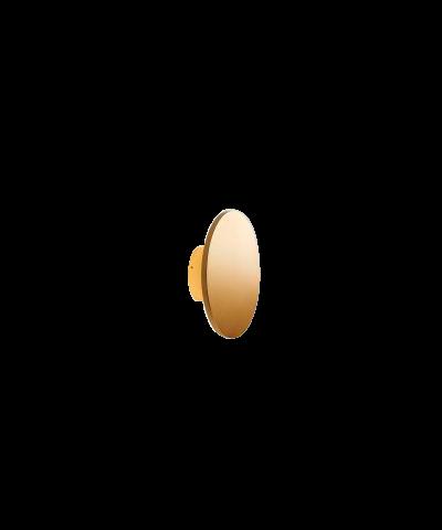 Soho W2 LED Væglampe Ø20 Guld - LIGHT-POINT