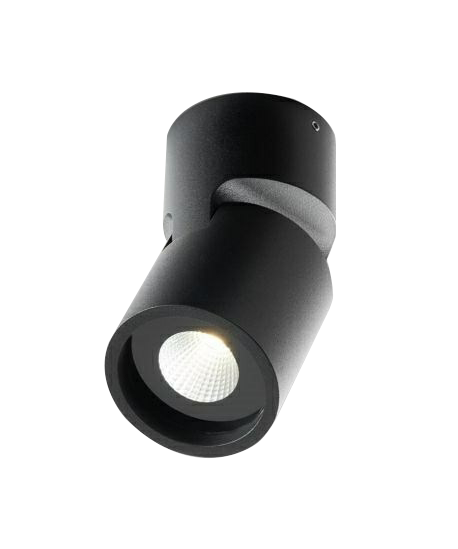 Tip 2 Loftlampe LED Sort - LIGHT-POINT