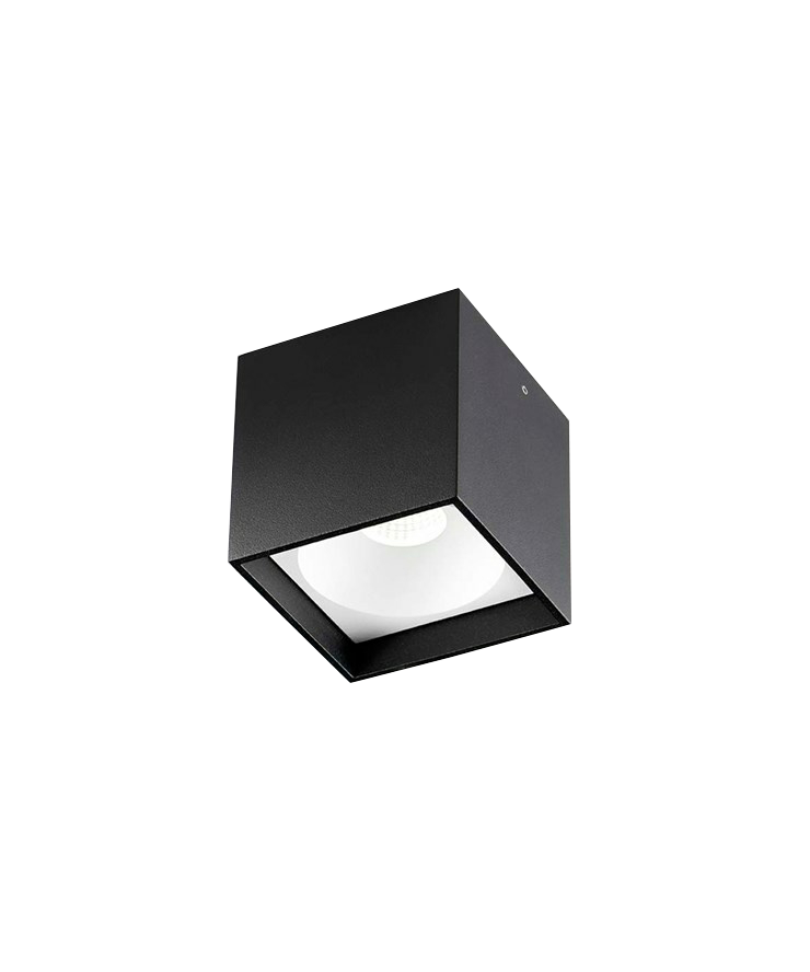 Solo Square Loftlampe LED Sort - LIGHT-POINT