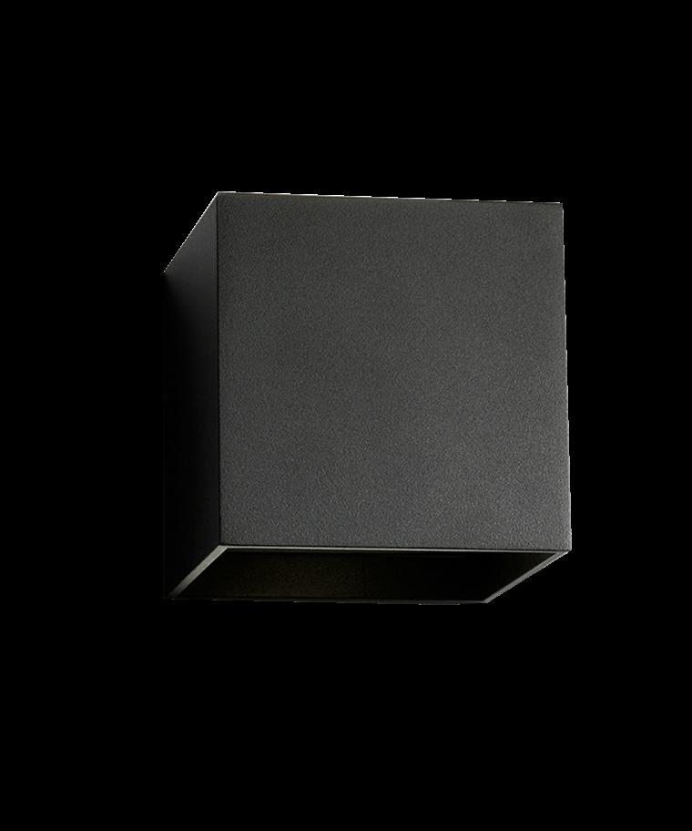 Box XL Væglampe Sort - LIGHT-POINT
