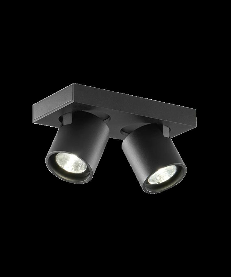 Focus+ 2 Loftlampe Sort - LIGHT-POINT