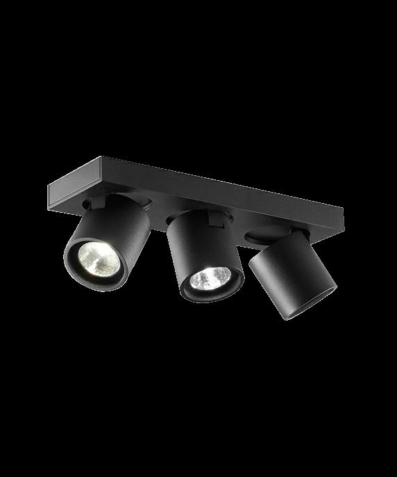 Focus Mini 3 Loftlampe Sort - LIGHT-POINT