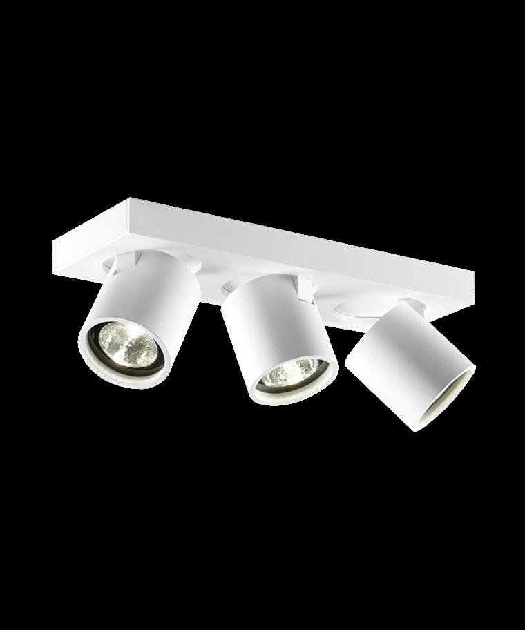 Focus 3 Loftlampe Hvid - LIGHT-POINT