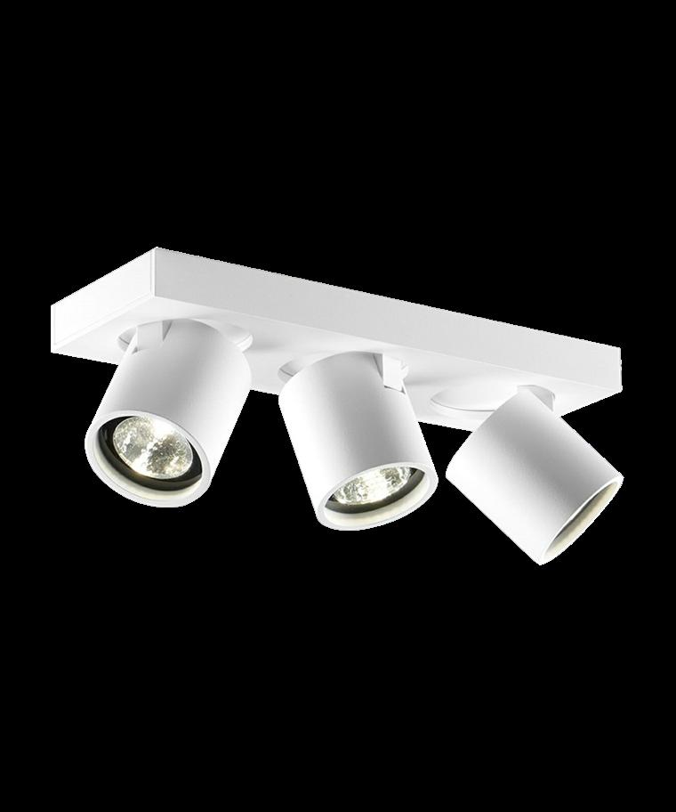 Focus+ 3 Loftlampe Hvid - LIGHT-POINT