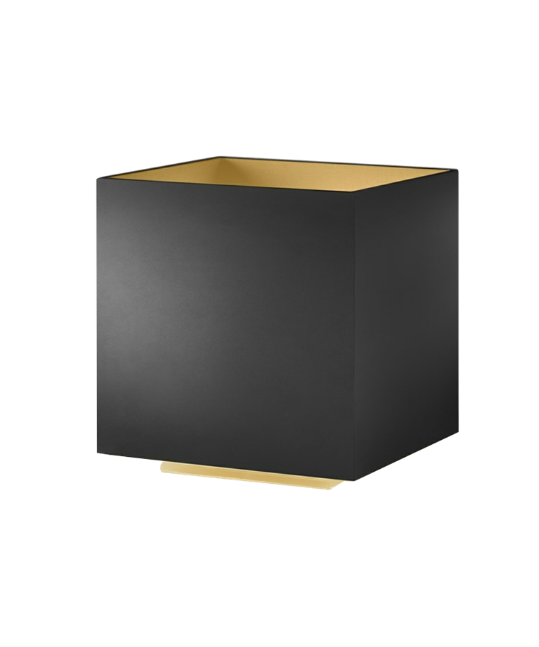 Cozy Square Bordlampe Sort/Guld - LIGHT-POINT