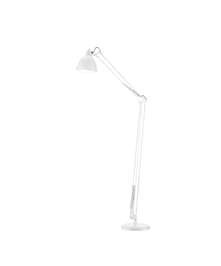 Archi F1 Gulvlampe Ø16  Mat Hvid - LIGHT-POINT