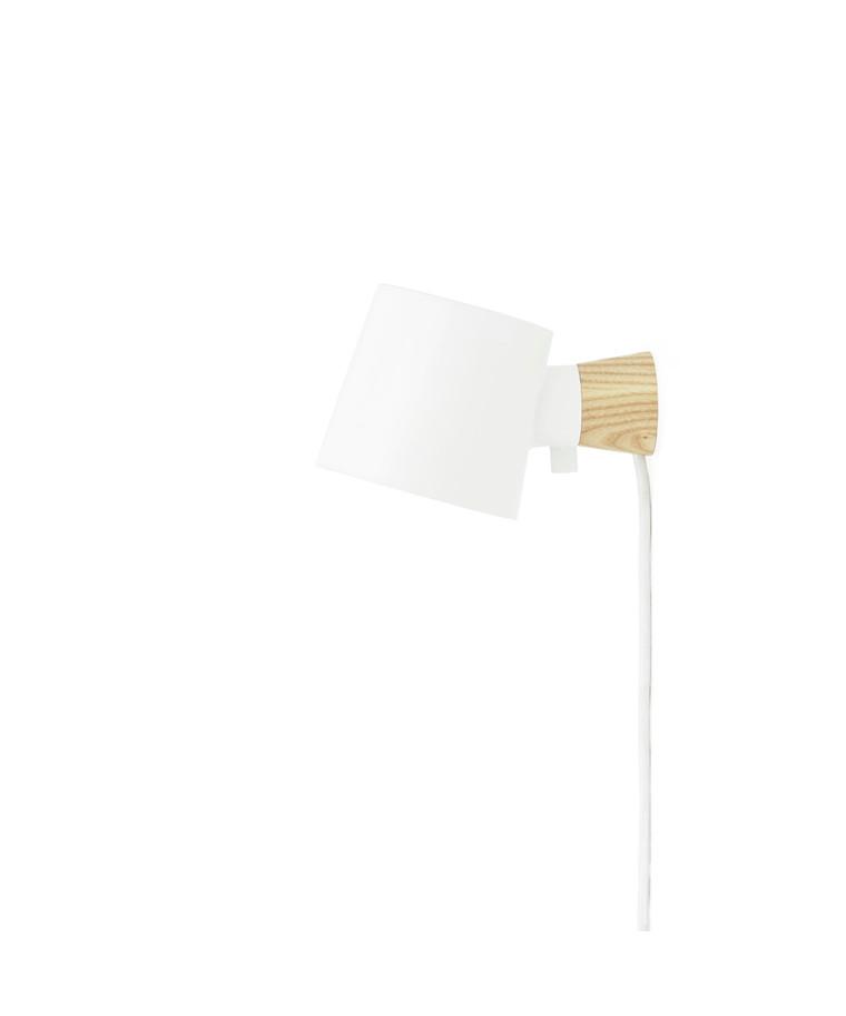Rise Væglampe Hvid - Normann