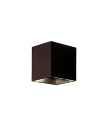 Copenhagen Square Udendørs Væglampe Bronze - Aros Design