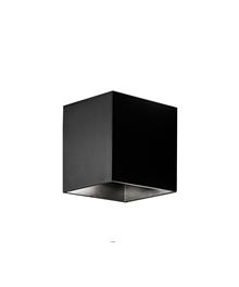 Copenhagen Cube Udendørs Væglampe Sort - Aros Design