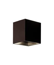 Copenhagen Cube Udendørs Væglampe Bronze - Aros Design