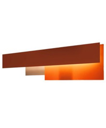 Fields 2 Væglampe Orange - Foscarini
