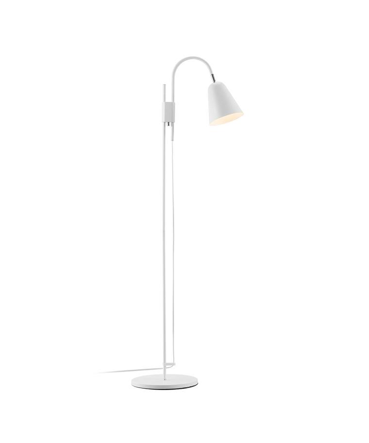 Linea Gulvlampe Hvid - NORD