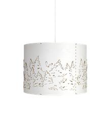 Norwegian Forest Stor Pendel Hvid - Northern Lighting