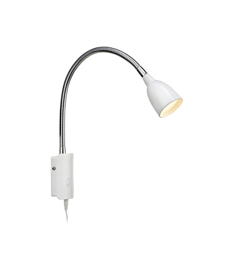 Tulip LED Væglampe Hvid - Markslöjd