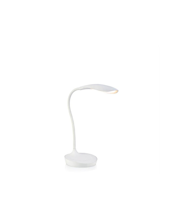 Swan LED Bordlampe med USB Hvid - Markslöjd
