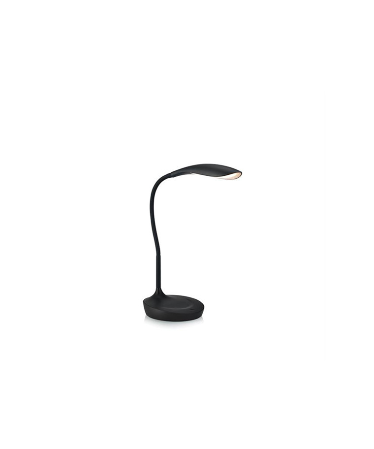 Swan LED Bordlampe med USB Sort - Markslöjd