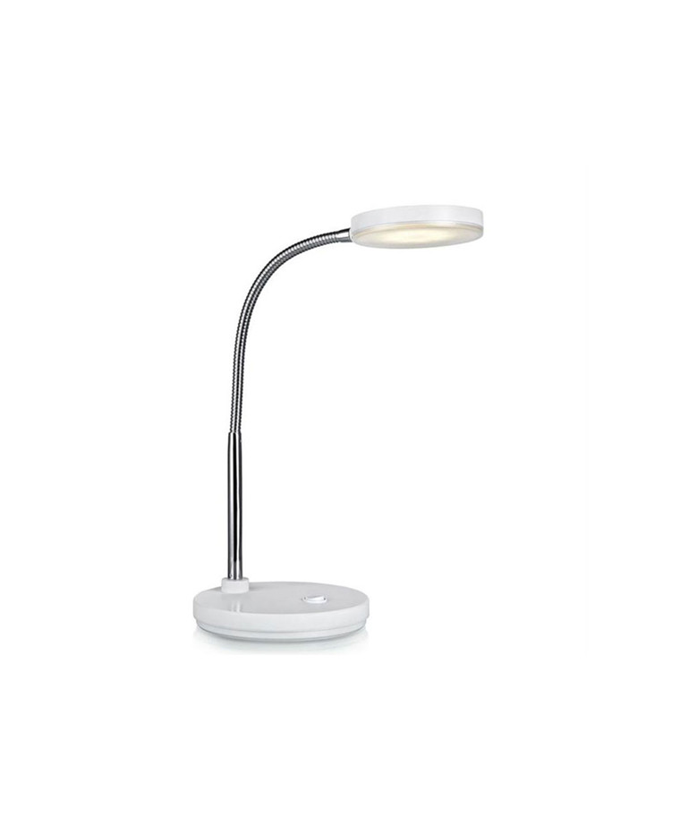 Flex Bordlampe Hvid/Chrome - Markslöjd