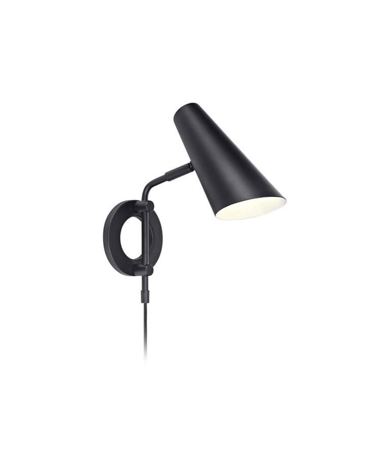 Cal Væglampe Sort - Markslöjd