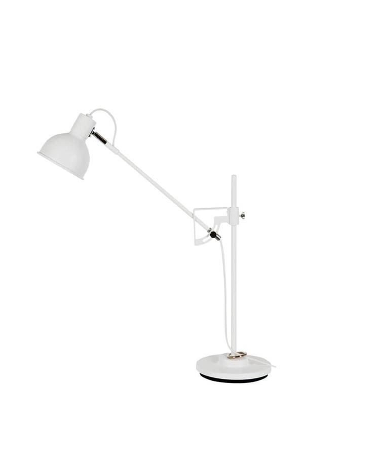 Magnum Bordlampe H500 Hvid/Krom - Belid