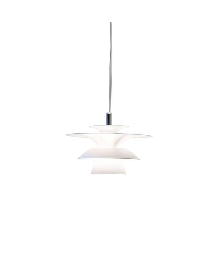Picasso Pendel Mat Hvid LED - Belid