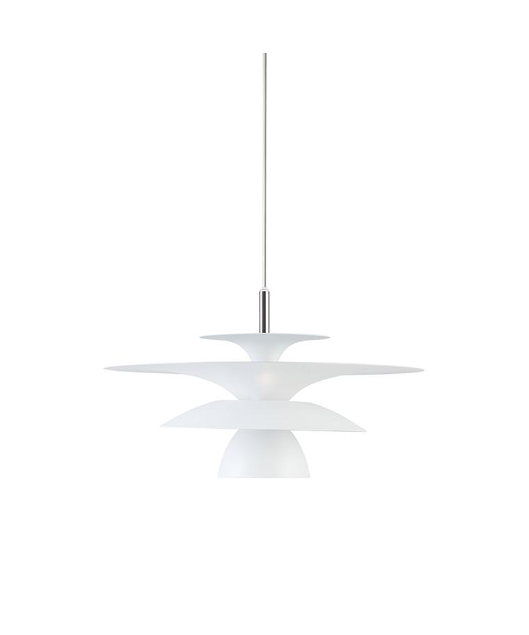Picasso Pendel Mat Hvid Ø380 LED - Belid