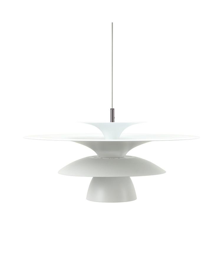 Picasso Pendel Mat Hvid Ø500 LED - Belid