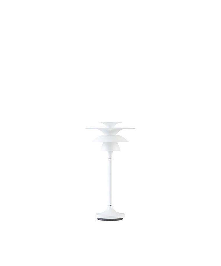 Picasso Bordlampe H355 Mat Hvid LED - Belid