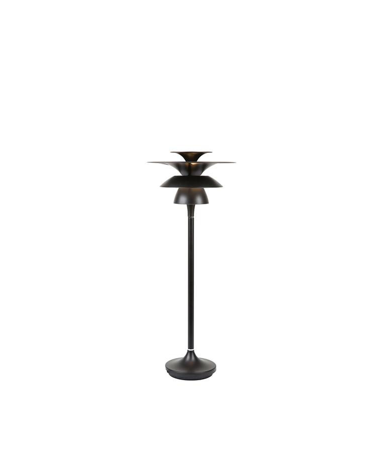 Picasso Bordlampe H465 Mat Sort LED - Belid