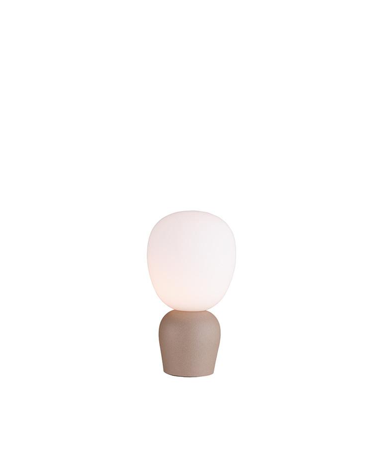 Buddy Bordlampe Sandstruktur/Opal - Belid