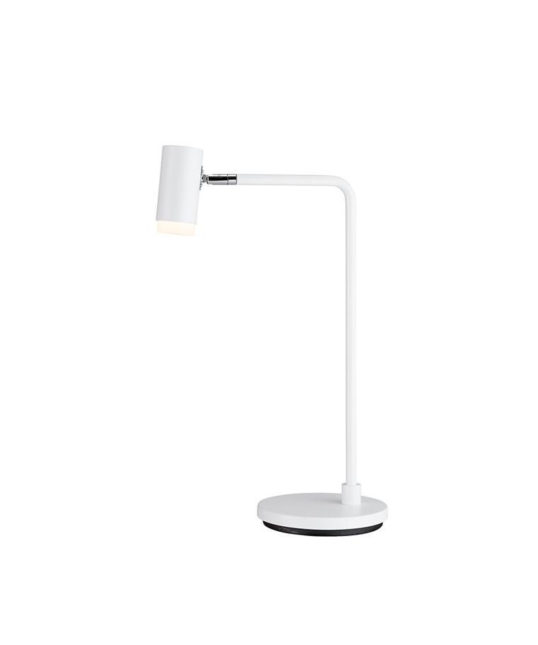 Cato Q Bordlampe Mat Hvid - Belid
