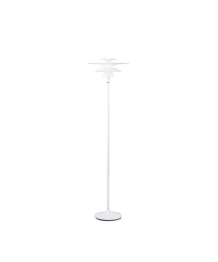 Picasso Gulvlampe Mat Hvid Ø380 LED - Belid