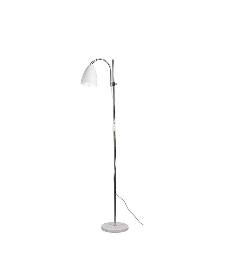 Sway Gulvlampe Mat Hvid - Belid