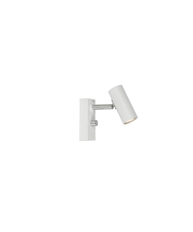 Cato Væglampe Mat Hvid Enkel LED - Belid
