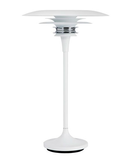 Diablo Bordlampe Ø300 Mat Hvid - Belid