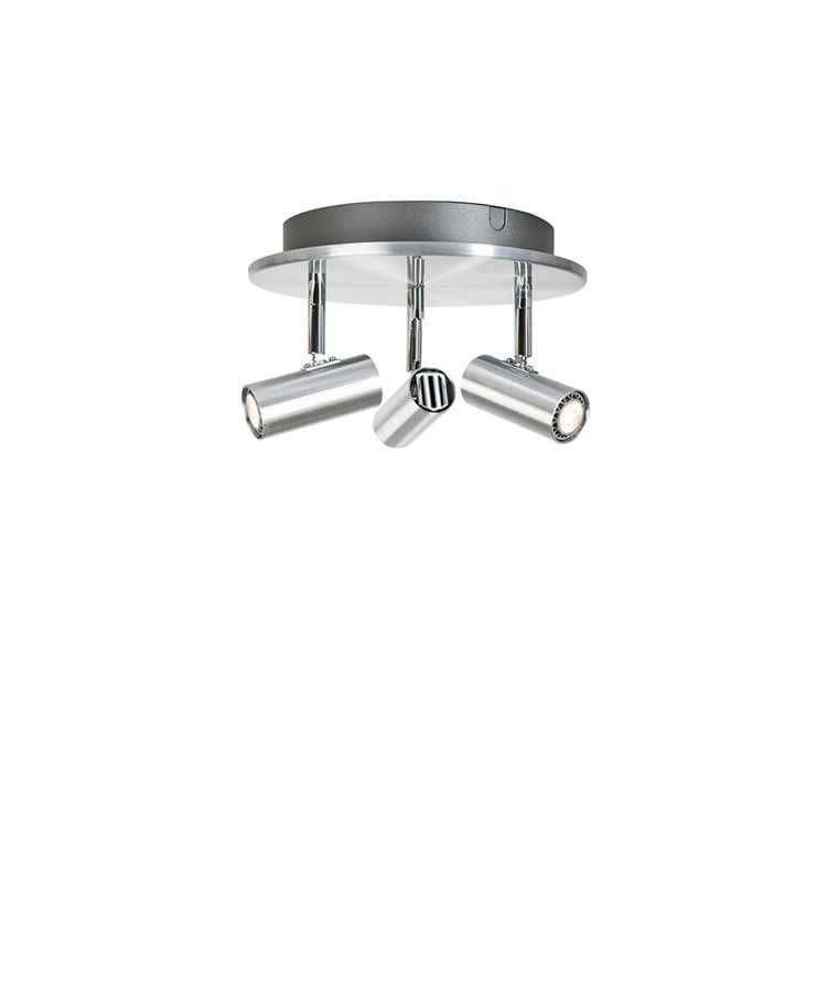 Cato Triospot Aluminium LED Dæmpbar - Belid