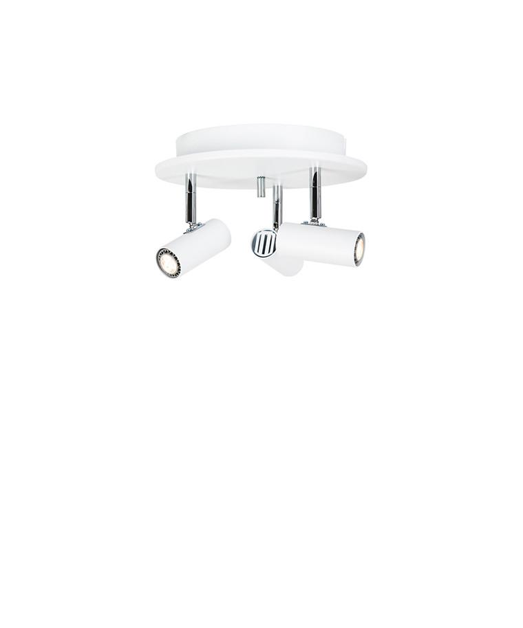Cato Triospot Mat Hvid LED Dæmpbar - Belid