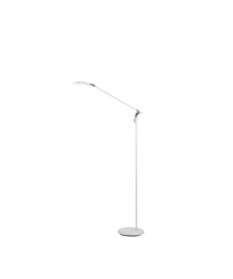 Spectra Gulvlampe Mat Hvid LED - Belid