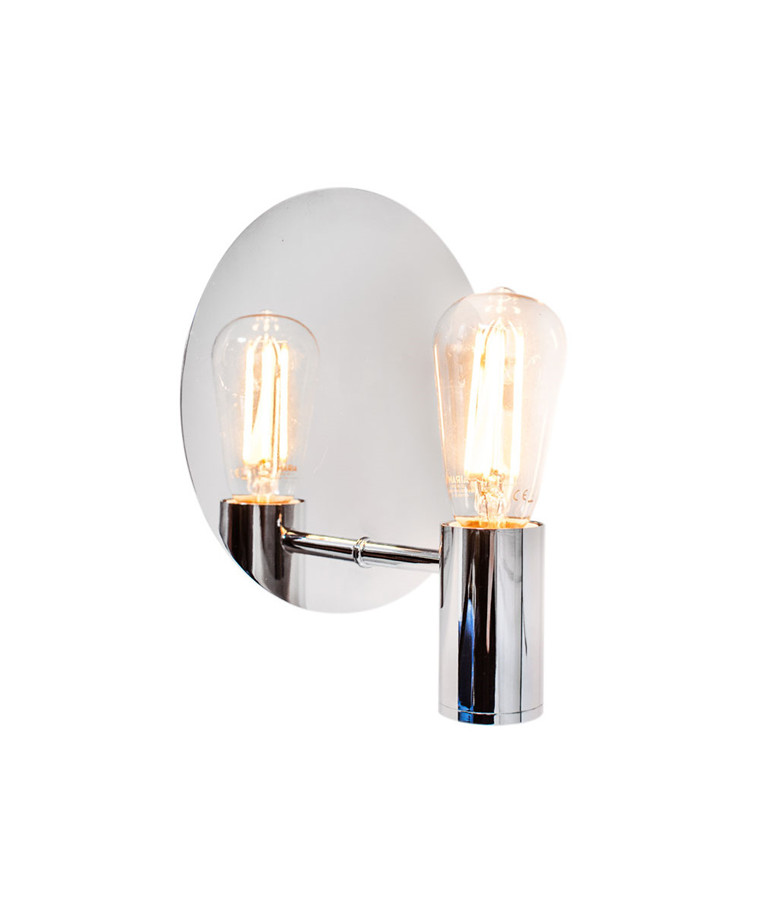 Gloria Væglampe H20 Krom - By Rydéns