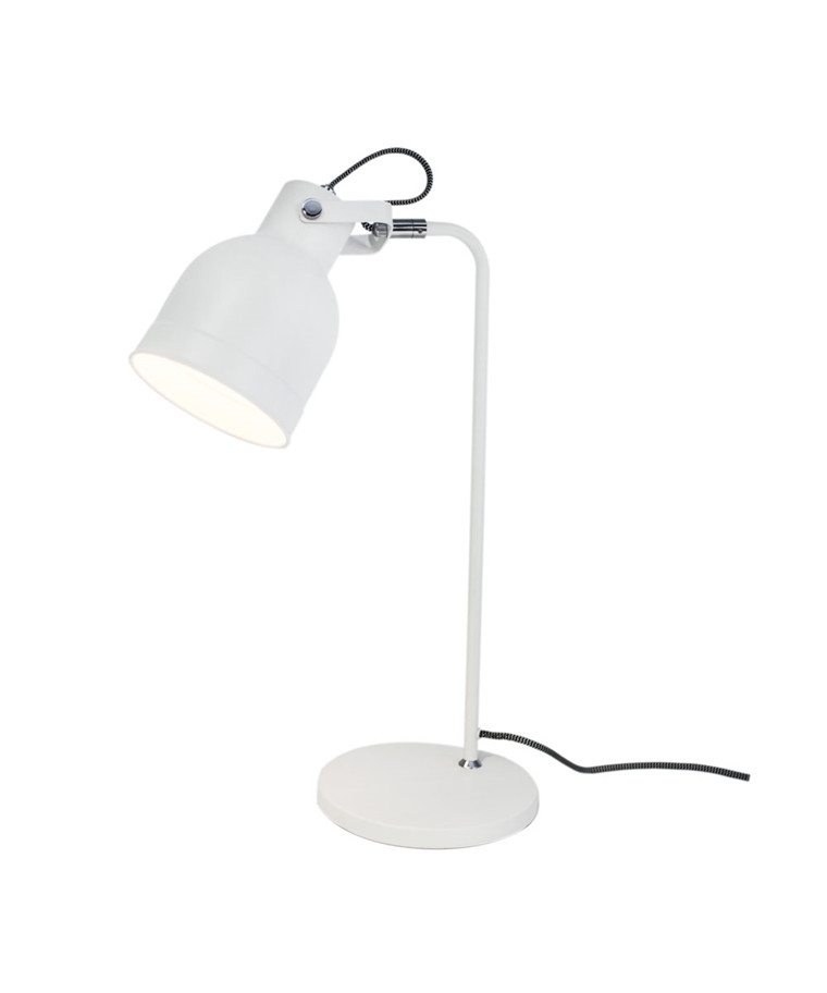 Bolt Bordlampe H50 Hvid Mat - By Rydéns