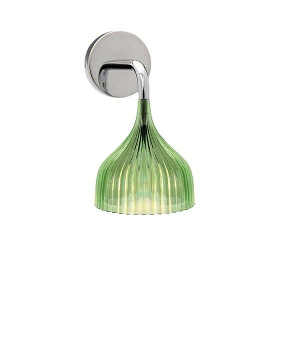 E' Væglampe Grøn - Kartell