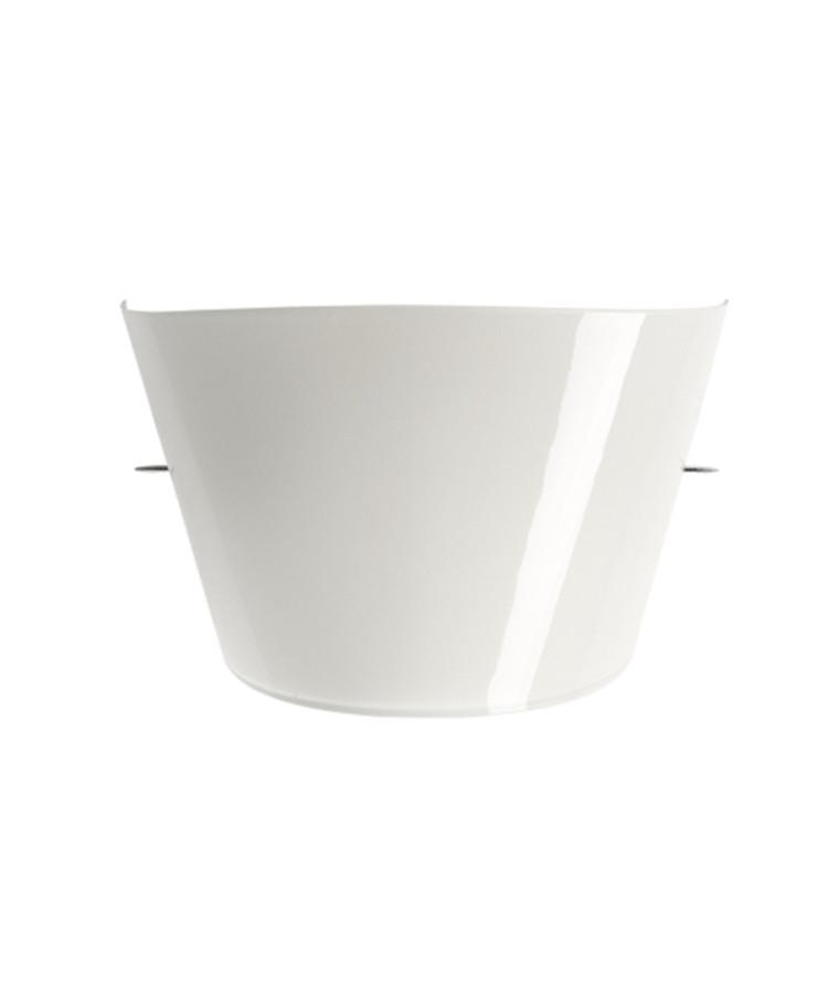 Skærm til Tutu Væglampe Hvid - Foscarini