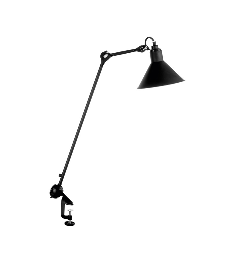 201 Bordlampe Sort/Satin - Lampe Gras