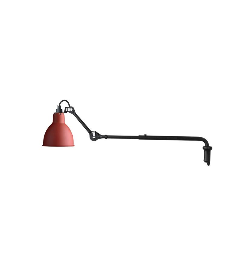 203 Væglampe Rød - Lampe Gras